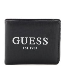GUESS/ゲス GUESS OUTFITTER Bi-Fold Wallet (BLACK)/503221480