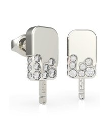GUESS/ゲス GUESS I MELT FOR YOU Pave Ice Pop Stud Pierce (Silver) (SILVER)/503221576