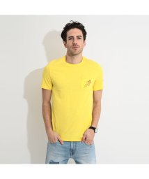 GUESS/ゲス GUESS Pocket Embroidery Tee (PINAPPLE YELLOW)/503221644