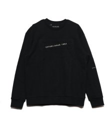 GUESS/ゲス GUESS Unisex Emboss Logo Sweat (BLACK)/503221647