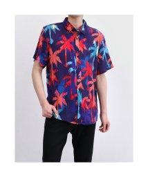 GUESS/ゲス GUESS Rogan Hidden Palms S/S Shirt (HIDDEN PALMS PRINT)/503221664