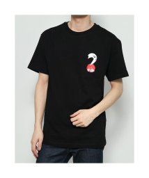 GUESS/ゲス GUESS Japan 2020 Triangle Logo Tee (BLACK)/503221745