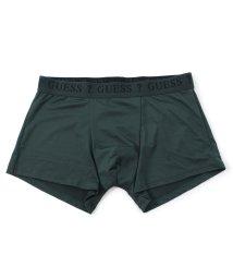 GUESS/ゲス GUESS Logo Plain Boxer Pant (DARK GREEN)【返品不可商品】/503221780