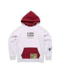GUESS/ゲス GUESS [GUESS x GENERATIONS] LOGO HOODED PULLOVER PARKA (LUNAR GREY MULTI)/503221799