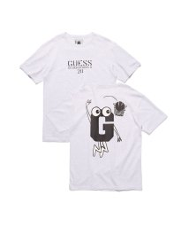 GUESS/ゲス GUESS [GUESS x GENERATIONS] LOGO S/S TEE (LUNAR GREY MULTI)/503221809