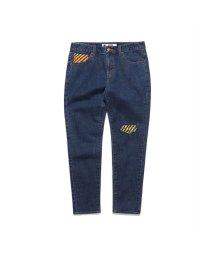 GUESS/ゲス GUESS [GUESS x GENERATIONS] LOGO DENIM PANTS (DARK BLUE DENIM WASH)/503221813