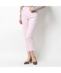 GUESS/ゲス GUESS THE IT GIRL SKINNY SLIGHTLY RELAXED DENIM PANT (FLORA PINK)/503221817