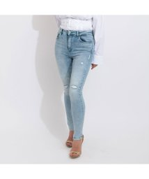 GUESS/ゲス GUESS SUPER HIGH-RISE SKINNY DENIM PANT (EDGY WATER DESTROY)/503221818