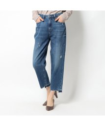GUESS/ゲス GUESS JACQUELINE RELAXED WIDE-CROPPED DENIM PANT (OCEAN DRIVE)/503221821