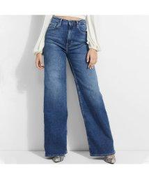 GUESS/ゲス GUESS Super High Wide Leg Denim Pant (MONDAY)/503221842