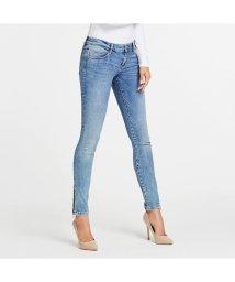 GUESS/ゲス GUESS MARILYN 3 ZIP Low-Rise Skinny Denim Pant (BAYSHORE)/503221859