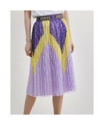 GUESS/ゲス GUESS Alejandra Skirt (TRIPPY PURPLE MULTI)/503221886