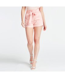 GUESS/ゲス GUESS Jayne Belted Relaxed-Fit Short (LOST PINK)/503221954