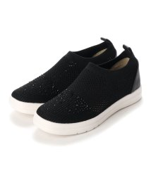Hashed Coorde/ハッシュド コーデ Hashed Coorde スリッポンスニーカー (クロ)/503222120
