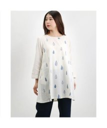 KANKAN/カンカン KANKAN しずく刺繍チュニック (ホワイト)/503225218