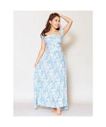 KAHIKO/【Kahiko】ハワイアンプリントサッシュスカート ブルー/503225628