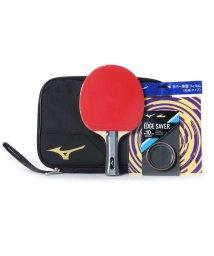 MIZUNO/ミズノ MIZUNO 卓球 ラケット(競技用) TECHNIX テクニックス スターターセット 貼り上りラケット ラバー 貼上 ブラック/ゴールド 83JTT0/503230576