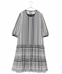 HIROKO BIS/【洗濯機で洗える】エキゾチックドビードレス/503248517