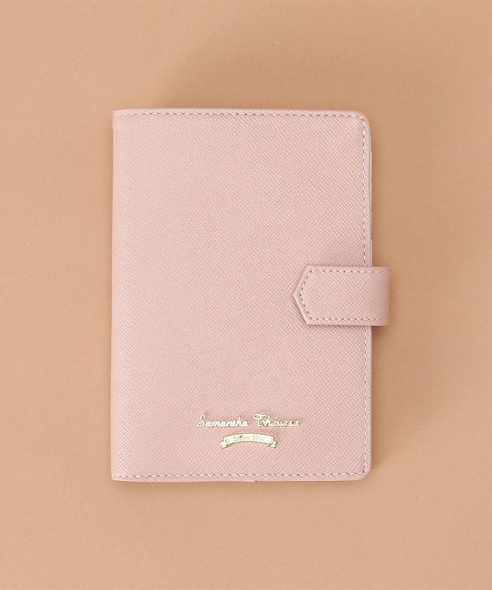 【50%OFF】 サマンサタバサ シンプルデザイン パスポートケース レディース ピンク FREE 【Samantha Thavasa】 【セール開催中】