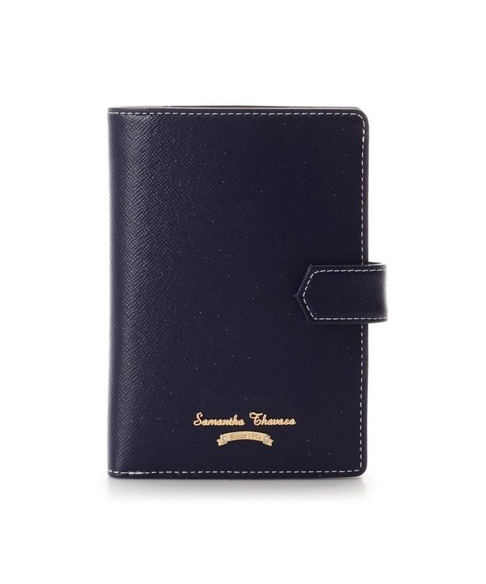 【50%OFF】 サマンサタバサ シンプルデザイン パスポートケース レディース ネイビー FREE 【Samantha Thavasa】 【セール開催中】