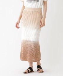 AG by aquagirl/【洗える】ディップダイニットスカート/503248973