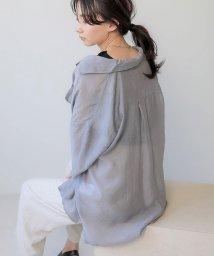 Bou Jeloud/【WEB限定】オープンカラーシアーシャツ/503250181