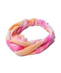 atmos pink/アトモスピンク タイダイガラ ヘアバンドTX/503250423