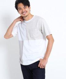 TAKEO KIKUCHI/ブロッキングポケットTシャツ/503251104