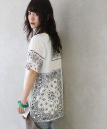 osharewalker/『nOrニュアンスペイズリープリントTシャツ』/503251661