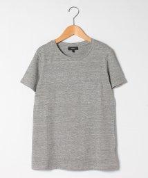 Theory/Tシャツ FLEX LINEN EASY PCKT TEE/502843647