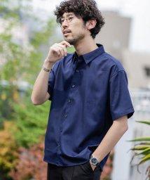nano・universe/《WEB限定》エントリーワイドレギュラーカラーシャツ 半袖/503105793