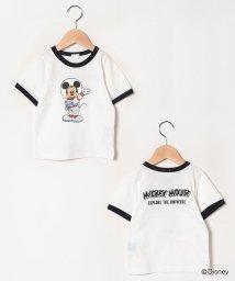 b-ROOM/【DISNEY】 宇宙飛行士ミッキーマウスデザイン リンガーTシャツ/503196709