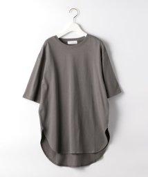 green label relaxing/SC コットン スソ テール 5分袖 Tシャツ/503198382