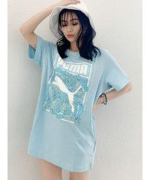 GYDA/【WEB限定】PUMA ロゴフィルTシャツ/503202757
