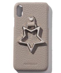 en recre/【HASHIBAMI】星型ホールドリング付レザーiPhoneケース/503203484