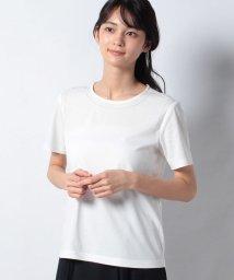 Leilian/ラインストーンTシャツ/503216226