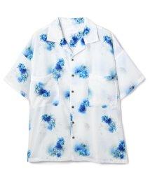 LHP/LHP/エルエイチピー/【web限定】フラワーパターンオープンカラービッグシャツ/総柄グラフィックシャツ/503252295