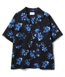 LHP/LHP/エルエイチピー/【web限定】フラワーパターンオープンカラービッグシャツ/総柄グラフィックシャツ/503252296