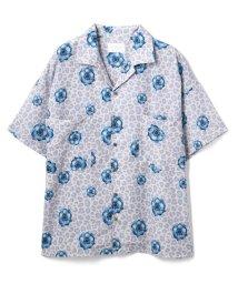 LHP/LHP/エルエイチピー/【web限定】レオパードフラワーグラフィックオープンカラービッグシャツ/総柄グラフィックシャツ/503252299
