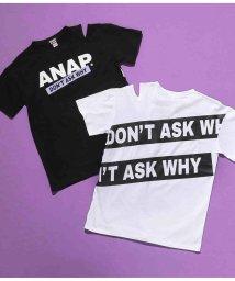 ANAP GiRL/バックラインロゴTシャツ/503252432