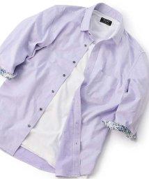 Men's Bigi/クラック柄ジャカードシャツ/503252533