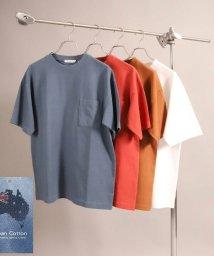 UNION STATION/【Ocean Cotton】クルーネックポケットTシャツ/503252534