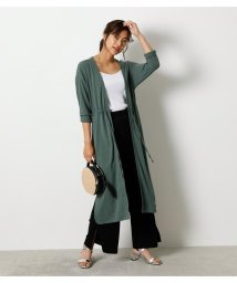 AZUL by moussy/【接触冷感】【UVカット】【吸水速乾】ICE CLEAN BLOUSING CARDIGAN/503252640