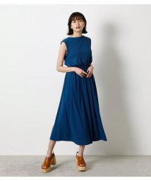 AZUL by moussy/【接触冷感】【UVカット】【吸水速乾】ICE CLEAN BLOUSING ONEPIECE/503252641
