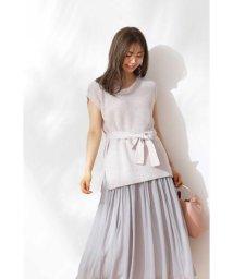 PROPORTION BODY DRESSING/《EDIT COLOGNE》ニットベスト×スカート/503254770