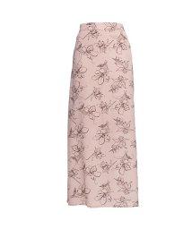 GROWINGRICH/[スカート]ペインティング花柄ストレートスカート[200330/503254799