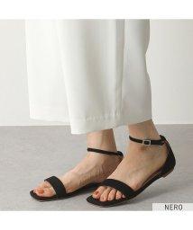 FABIO RUSCONI/【FABIO RUSCONI(ファビオルスコーニ)】S 4774 カラー3色 スウェードレザー ストラップサンダル ローヒール フラットサンダル 靴 レディース/503196227