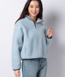 LEVI'S LADY/SLOANE SHERPA PULLOVER BABY BLUE/503205524