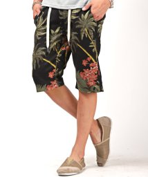 LUXSTYLE/プリペラショートパンツ/ショートパンツ メンズ プリペラ ハーフパンツ 花柄/503254764