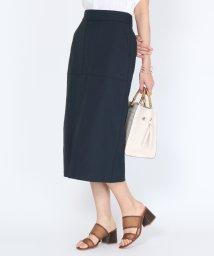 SCOTCLUB/Bouchon(ブション) 【手洗い可】綿麻セミタイトミディスカート/503260231